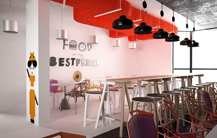 Canteen Interior Design