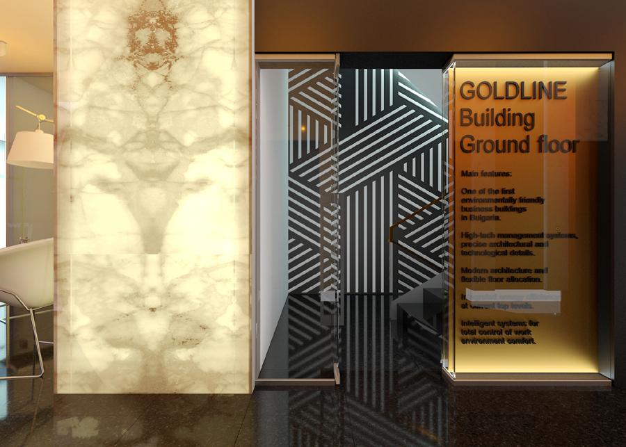 Вход към стълбище GOLD LINE