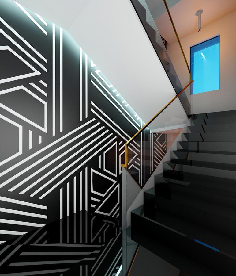 Мотив стълбище